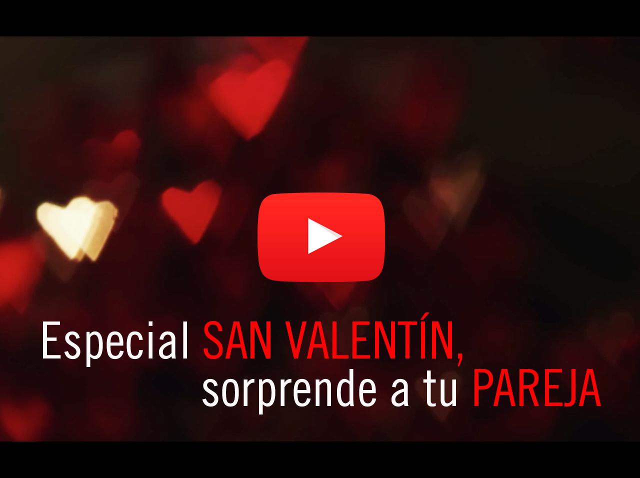 Cena especial de San Valentín para sorprender a tu pareja