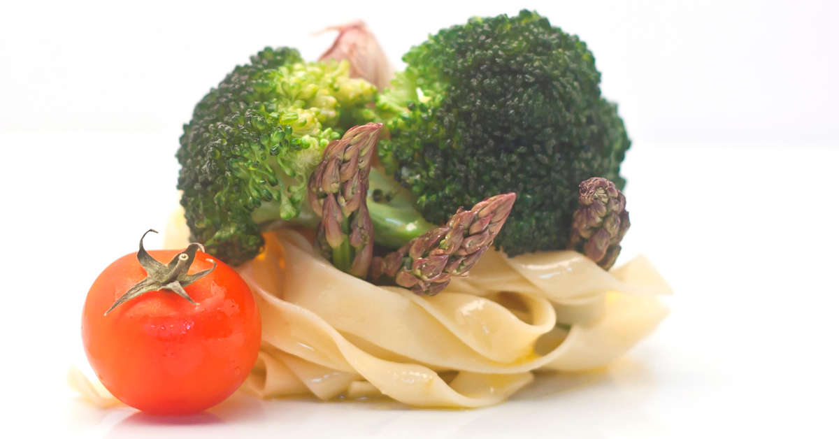 Pasta fresca con brócoli